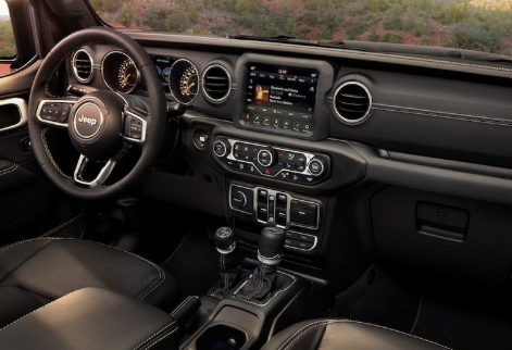 2021 Jeep Patriot Interior