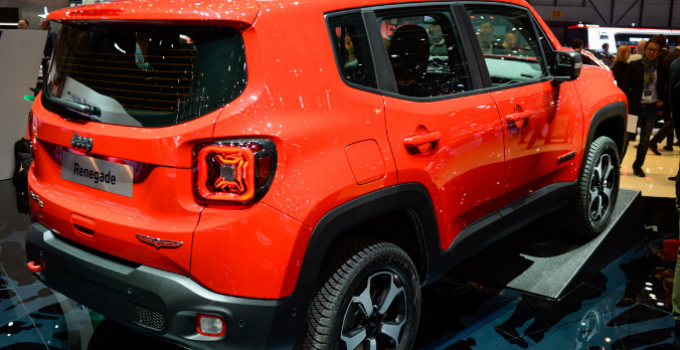 2021 Jeep Renegade Exterior
