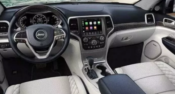 2021 Jeep Wagoneer Interior