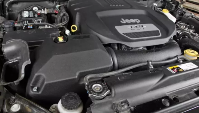 2021 Jeep Wrangler Engine