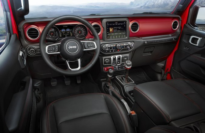 2021 Jeep Wrangler Interior