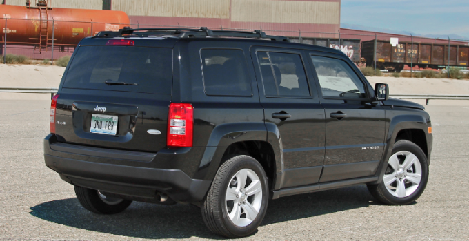 2021 Jeep Patriot Exterior