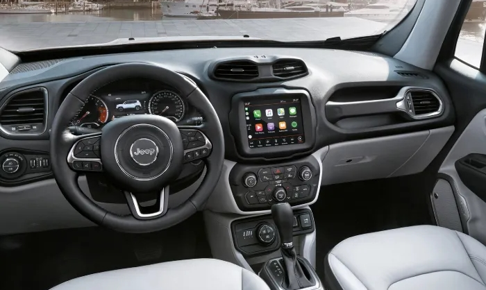 2021 Jeep Renegade Hybrid Interior