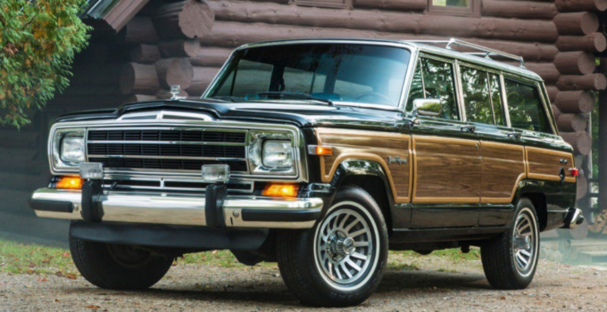 2022 Jeep Wagoneer Exterior